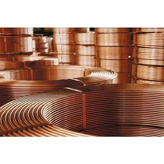 Copper Coil pipes for gas or water 5/16 inch