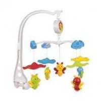 CANPOL BABIES Carosello di plastica - Api sotto gli ombrelli