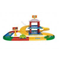 WADER Kid Cars 3D-Garage 2 poziomia 3,4 m drogi