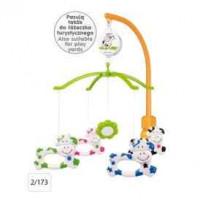 CANPOL BABIES Carosello di plastica con manico universale - Fudge